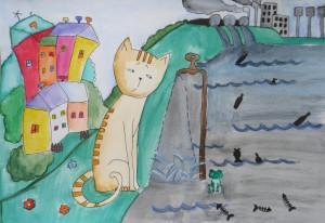 """Кузевич Христина, 13 р., """"Ми за чисте довкілля"""""""